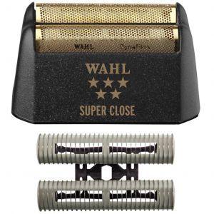 Wahl 5 Star Finale Replacement Foil & Cutter Bar Assembly - Gold Foil - Super Close #7043