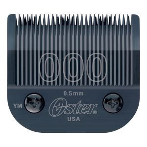 Oster Detachable 000 Blade Fits Titan, Turbo 77, Primo, Octane Clippers #76918-626