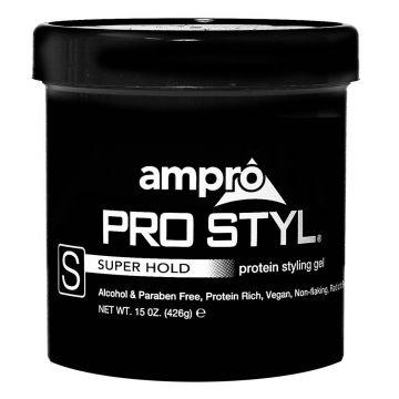 Ampro Pro Styl Protein Styling Gel - Super Hold 15 oz