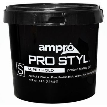 Ampro Pro Styl Protein Styling Gel - Super Hold 5 Lbs