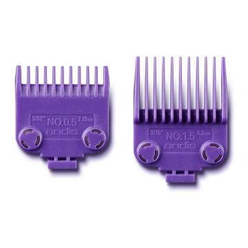 Andis Master Dual Magnet 2 Pcs Comb Set #01420