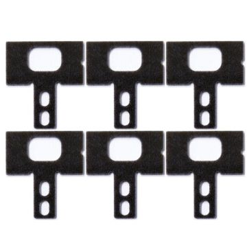 Andis Part Replacement T-Guide Fits Outliner, T-Outliner, GTO/GO #04116 - 6 Pack