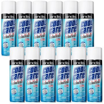 Andis Cool Care Plus Spray For Clipper Blades 15.5 oz #12750 - 12 Pack