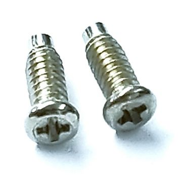 Andis Part Replacement Blade Pad Assembly Screws Fits Master Clipper - 1 Pair #17808
