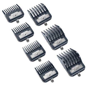 Andis Master Premium Metal Clip 7 Pcs Comb Set #33645