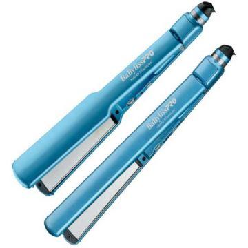 """BaByliss Pro Nano Titanium Ultra-Thin Straightener Combo - 1"""" & 1 1/2"""" #BABNTPP35UC"""