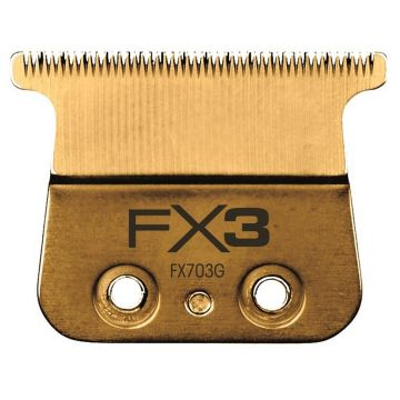 BaByliss Pro Gold Titanium Wedge Replacement Blade Fits FX870S, FX870RG, FX870S, FXF880 #FX603G