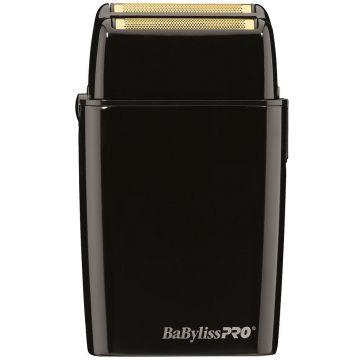 BaByliss Pro FOILFX02 Cordless Metal Double Foil Shaver - Black #FXFS2B (Dual Voltage)