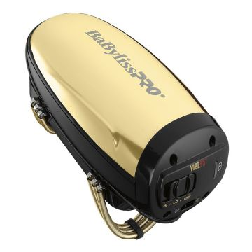 BaByliss Pro VIBEFX Cord / Cordless Massager - Gold #FXSSMG (Dual Voltage)