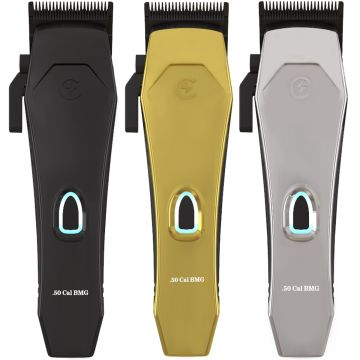 Caliber Professional .50 Cal BMG High Speed Magnetic Motor Cordless Clipper with 3 Color Lid
