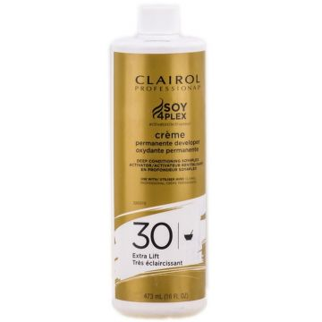 Clairol Soy 4 Plex Creme Permanente Developer 30 Volume 16 oz