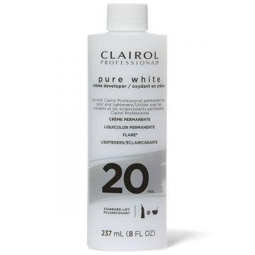 Clairol Pure White Creme Developer 20 Volume 8 oz