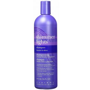 Clairol Shimmer Lights Shampoo Blonde and Silver 16 oz