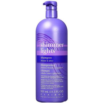 Clairol Shimmer Lights Shampoo Blonde and Silver 31.5 oz