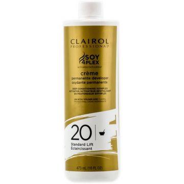 Clairol Soy 4 Plex Creme Permanente Developer 20 Volume 16 oz
