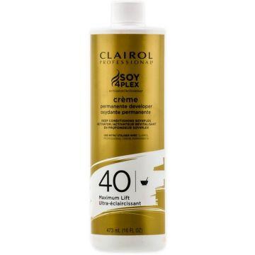 Clairol Soy 4 Plex Creme Permanente Developer 40 Volume 16 oz
