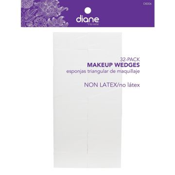 Diane Makeup Wedges No Latex - 32 Pack #D0006