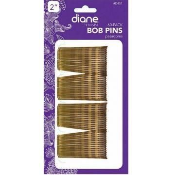 "Diane Bobby Pins 2"" Bronze - 60 Count #D451"