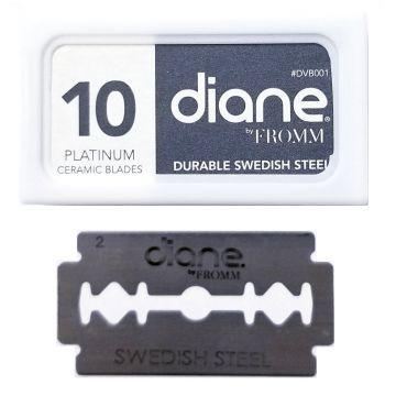 Diane Double Edge Shaving Blades - 100 Blades #DVB001
