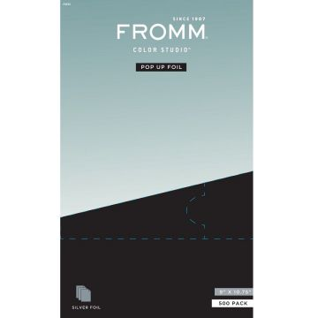 "Fromm Color Studio Pop Up Foil Silver (9"" X 10.75"") - 500 Sheets #F9255"