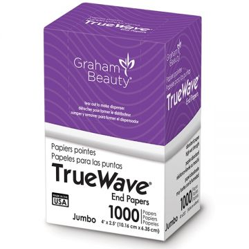 Graham True Wave End Papers Jumbo - 1,000 Papers