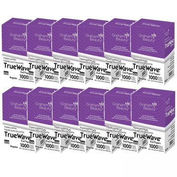 Graham True Wave End Papers Regular - 1,000 Papers - 12 Pack