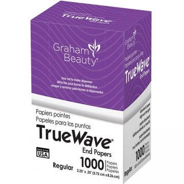 Graham True Wave End Papers Regular - 1,000 Papers