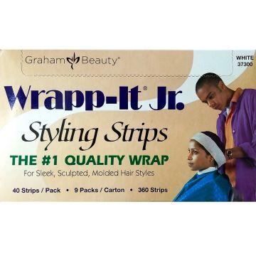 Graham Sanek Wrapp-It Jr. Styling Strips White - 360 Strips