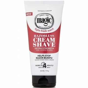 Softsheen Carson Magic Razorless Cream Shave - Extra Strength 6 oz