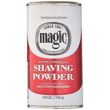 Softsheen Carson Magic Shaving Powder Red - Extra Strength 5 oz