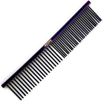 """Nexxzen Steel Comb 8"""" - Purple #523539"""