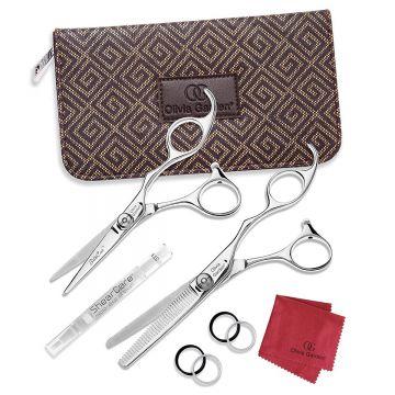 Olivia Garden SilkCut Professional Hairdressing Shear and Thinner Case #SK-C01
