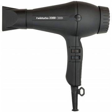 Turbo Power TwinTurbo 3200+ Professional Hair Dryer - Matte Black #324M