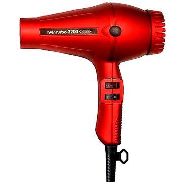Turbo Power TwinTurbo 3200 Professional Hair Dryer - Red #324R