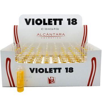 Alcantara Violett 18 Reestructurador Amples 0.6 oz - 50 Vials