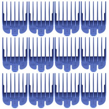 Wahl Color-Coded Clipper Guide #3 #3134-803 - 12 Pack