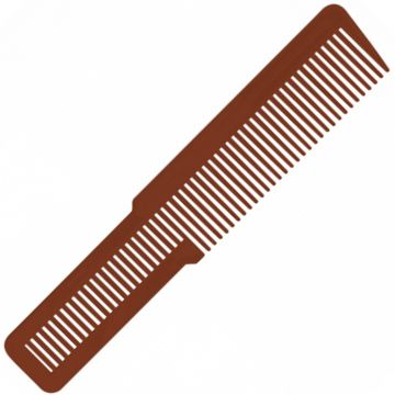 """Wahl Large Clipper Styling Comb Copper - 8"""" #3191-2801"""