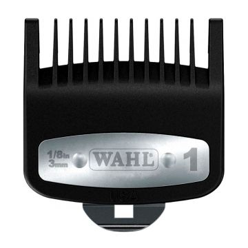Wahl Premium Cutting Guide Comb with Metal Clip #1 - 1/8 Inch #3354-1300