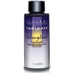 Clairol Radiance Colorgloss Demi-Permanent Hair Color 2 oz - #3RV Med. Red-Violet Brown