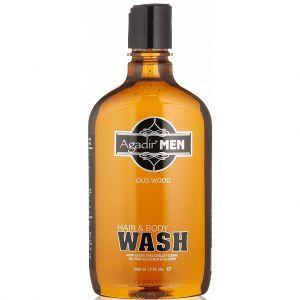 Agadir MEN Oud Wood Hair & Body Wash 17 oz