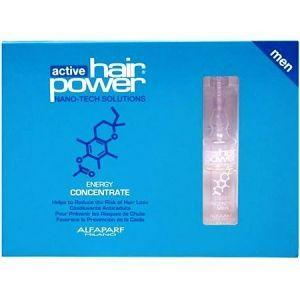 Alfaparf Active Hair Power Energy Concentrate Men Amples 0.23 oz - 6 Vials