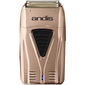 Andis ProFoil Lithium Titanium Foil Shaver - Copper #17220 (Dual Voltage)