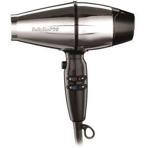 BaByliss Pro Steel FX Stainless Steel 2000 Watt Dryer #BABSS8000