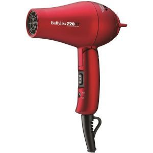 BaByliss Pro TT Tourmaline Titanium Travel Dryer - RED #BABTT053T