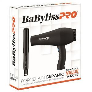 BaByliss Pro Porcelain Ceramic Carrera2 Hair Dryer & 1
