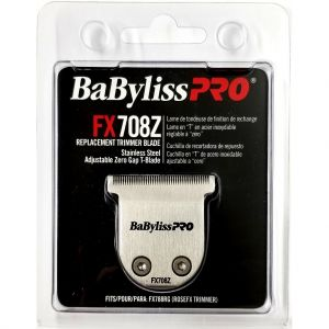 BaByliss Pro Stainless Steel Adjustable Zero Gab Replacement T-Blade Fits FX788RG (RoseFX Trimmer) #FX708Z