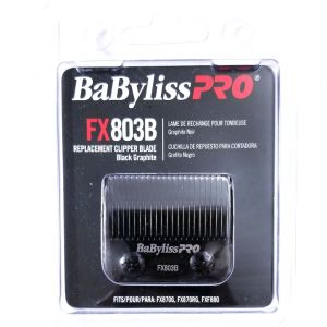 BaByliss Pro Replacement Clipper Blade Black Graphite Fits FX870G, FX870RG, FXF880 #FX803B