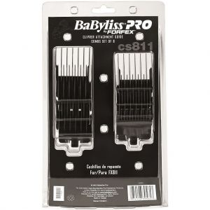 BaByliss Pro By Forfex Attachment 8 Pcs Comb Set Fits FX811, FXB811  #FXCS811