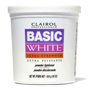 Clairol Basic White Powder Lightener Extra Strength 16 oz