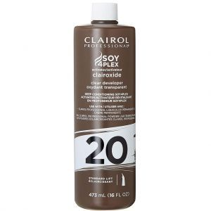 Clairol Soy 4 Plex Clairoxide Clear Developer 20 Volume 16 oz